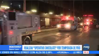 Realizan Operativo Chocolate Temporada Frío Monterrey