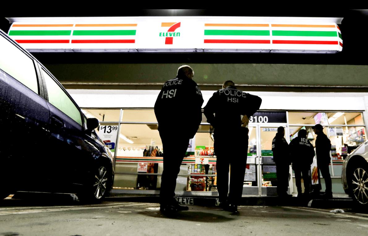 EU realiza redadas en tiendas 7-Eleven para detener a inmigrantes indocumentados