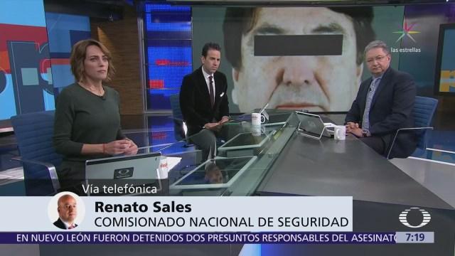 Renato Sales: Chihuahua no ha entregado a Alejandro Gutiérrez a autoridades federales