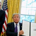 Renegociación TLCAN va bastante bien Donald Trump