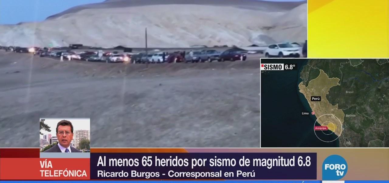 Reportan Muerto Sismo Perú Autoridades