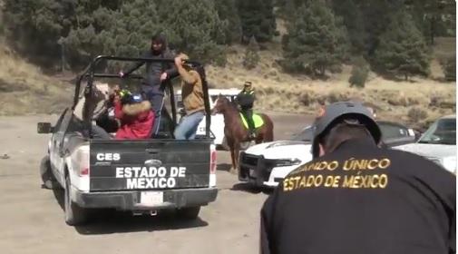 Localizan a cuatro jóvenes extraviados en el Nevado de Toluca