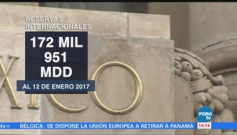 Reservas Internacionales Aumentan 47 Millones Dólares