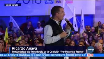 Ricardo Anaya Dialoga Simpatizantes Aguascalientes