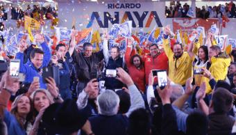 Ricardo Anaya realiza actividades en el Estado de México