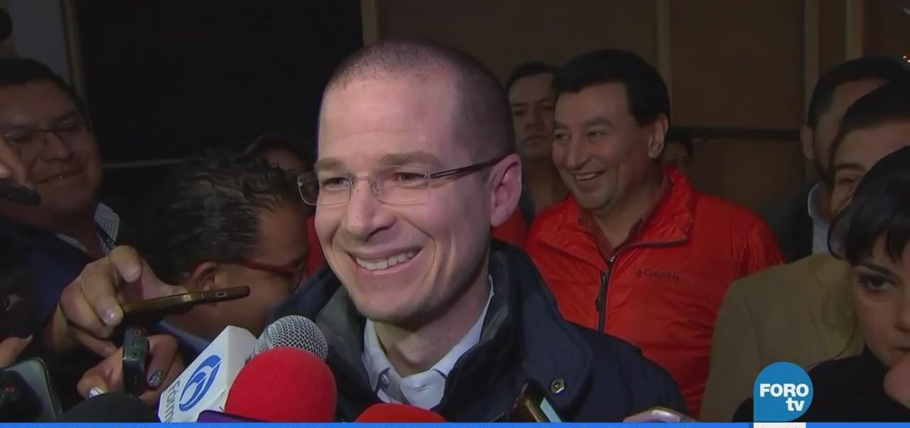 Ricardo Anaya, precandidato a la Presidencia, visita Tepic, Nayarit