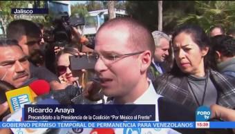 Salida de panistas, parte del proceso electoral, asegura Anaya