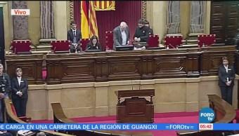 Se instala el Parlamento de Cataluña