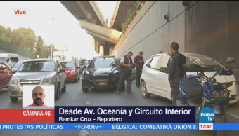 Registra Accidente Circuito Interior Oceanía