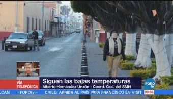 Seguirá el frío en México; extreme precauciones