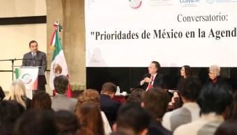 Subsecretario Ruiz Cabañas reconoce que México enfrenta un problema de inseguridad