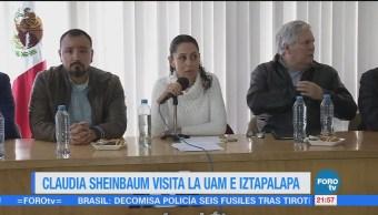 Sheinbaum Participa Foro Sobre Agua UAM
