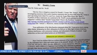 Sin Filtros: Trump: Eres un perdedor y tu libro apesta