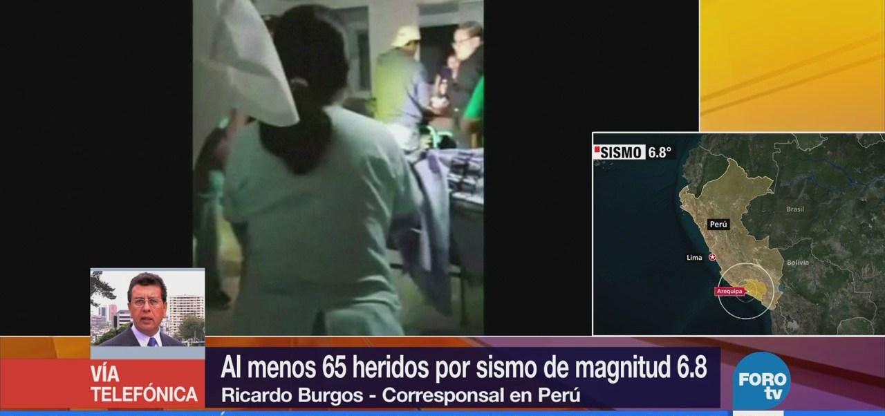 Sismo de magnitud 6.8 en Perú también se sintió en Chile