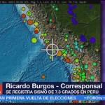 Sismo en Perú deja muertos y caída de casas