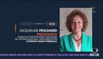 Sistema Anticorrupción debió quedar en julio pasado: Peschard
