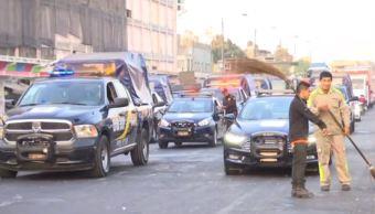 conato violencia operativo ambulantes policia seguridad