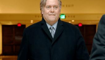 Steve Bannon, exasesor de Donald Trump. (AP, archivo)