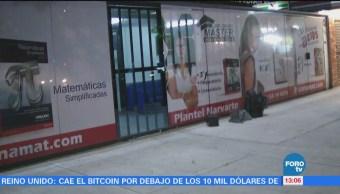 Sujetos armados roban a estudiantes de una escuela en la Narvarte
