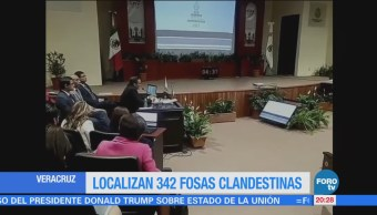 Suman 342 Fosas Clandestinas Halladas Veracruz