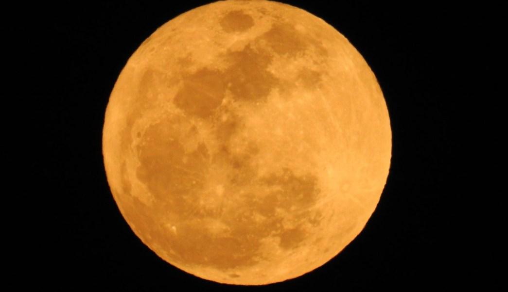 As se vio la superluna en todo el mundo for En q luna estamos hoy