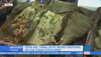 Tamales de varios países se venden en el Museo de Culturas Populares