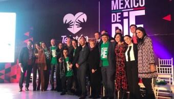 teleton 2018 regresa lema mexico pie