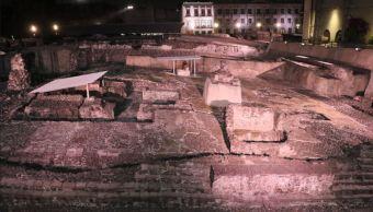 templo mayor estrena iluminacion y recibe al doble de visitantes
