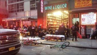 tiroteo heridos manhattan nueva york plaza