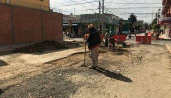 Gobierno CDMX rellena grietas en zonas de Tláhuac por sismo 19S