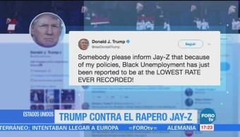 Trump Contra Rapero Jay Z Twitter Donald