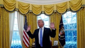 Trump dice que rusia ayuda corea del norte a eludir sanciones