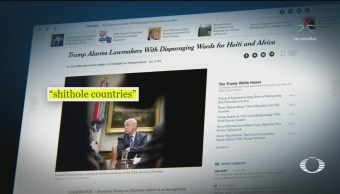 Trump llama 'países de mierda' a Haití, El Salvador y Nigeria