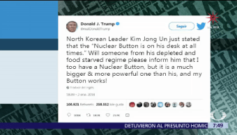 Kin Jong-un, Donald Trump, corea del norte, Estados Unidos (EU),