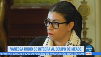 Vanessa Rubio deja su puesto en la subsecretaria de Hacienda