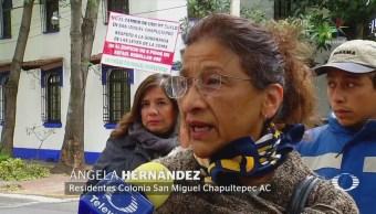 Vecinos Permitirán Construcción Edificio Irregular Miguel Hidalgo