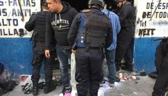 Realizan operativo contra venta de autopartes robadas en la colonia Buenos Aires
