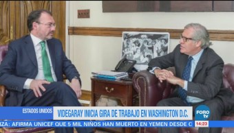 Videgaray Gira Washington Reúne Luis Almagro