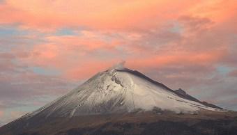 No se acerque a zona de expulsión del volcán Popocatépetl