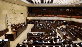 Votación en el Parlamento de Israel. (Reuters, archivo)