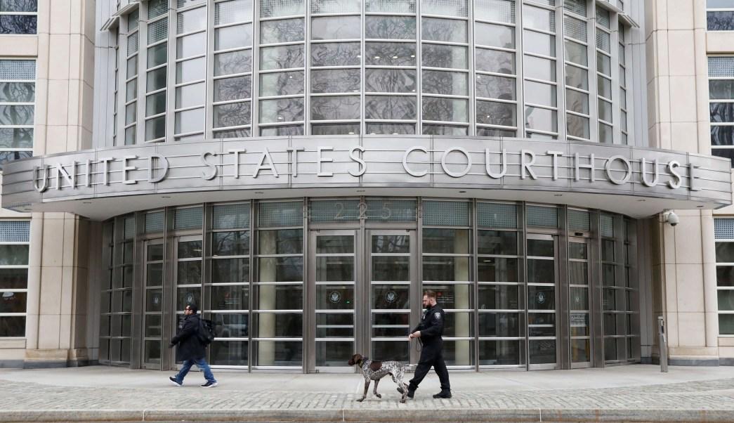 Joaquín 'El Chapo' Guzmán comparece en la Corte Federal de Brooklyn