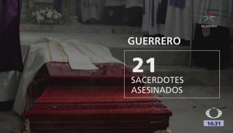 21 sacerdotes asesinados en México en cinco años, dice Episcopado