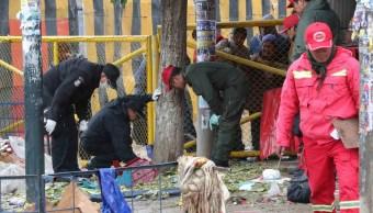 Policía de Bolivia investiga explosión en mercado que causó seis muertos