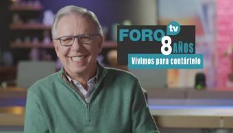 8 años de FOROtv: Joaquín López-Dóriga
