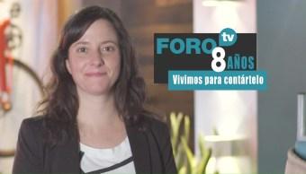 8 años de FOROtv: Leonora Milán