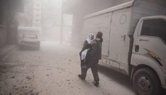 Al menos un muerto y varios heridos dejan bombardeos durante tregua en Guta