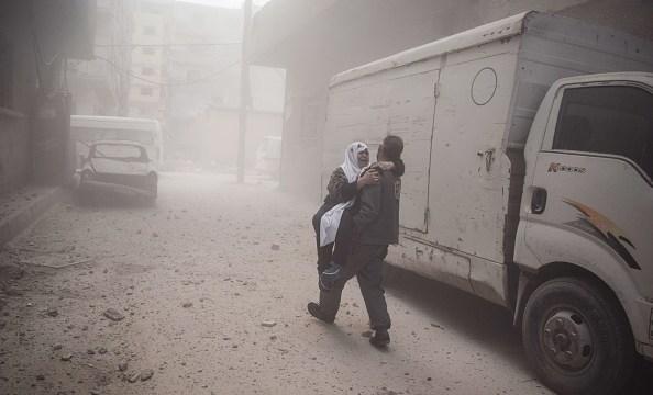 habilitan corredor humanitario salir guta oriental