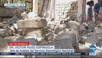 Alerta Sísmica Comunicación Salvan Vidas Señala Víctor Hugo Espíndola
