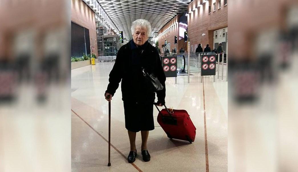 Abuela de 93 años viajó a Kenia como voluntaria en un orfanato
