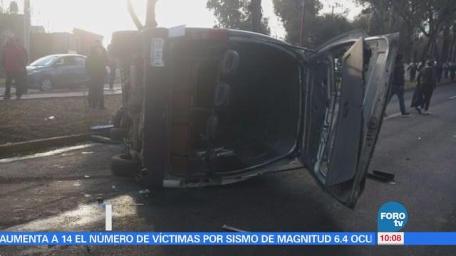 Accidente Carretera México Cuautla Nueve Heridos